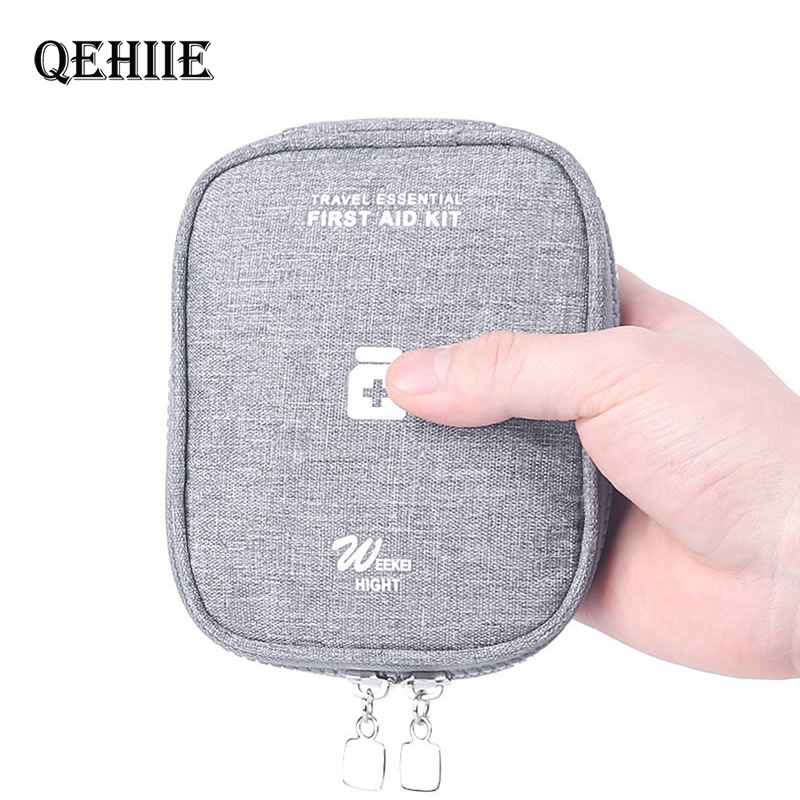 Travel Portable First Aid Kit Bag Small Organizer Cosmetics Jewelry Mini Outdoor Emergency Kit Bags Storage Bag Medicine Package