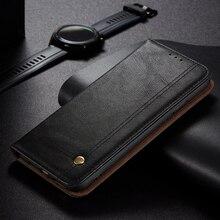 Poco Funda abatible M3 X3 Pro para móvil, carcasa de cuero de lujo para Xiaomi Pocophone M3 M 3, NFC, X 3 Pro