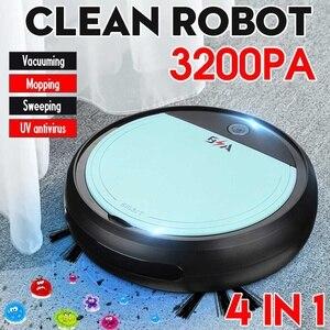 3200pa USB Smart Robot Recharg