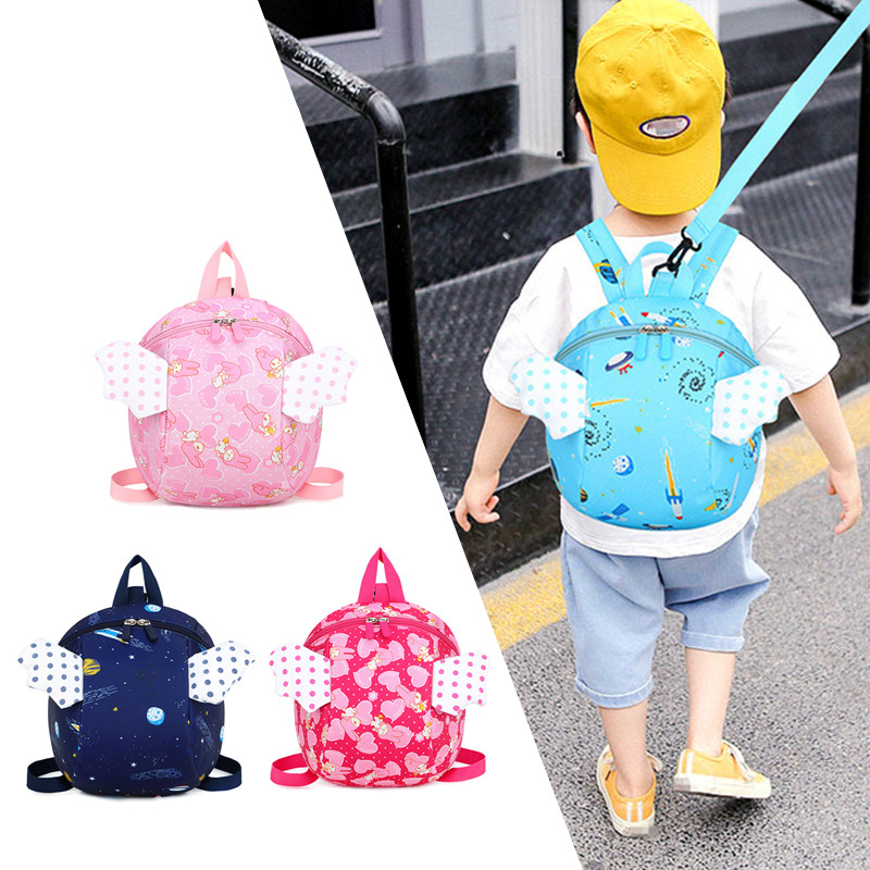 Cute Baby Safety Harness Backpack Toddler Anti-lost Leash Bag Children Extremely Durable Sturdy And Comfortable Schoolbag