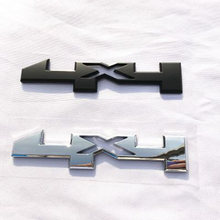 175*35mm abs electroplating 4x4 car body four wheel drive sticker