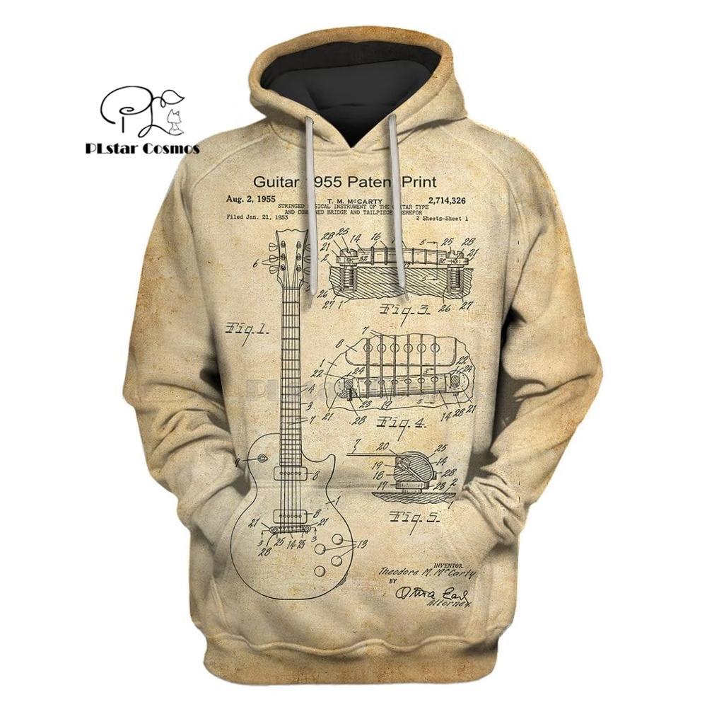 PLstar Cosmos Guitar 1955 Music Hip Hop Singer 3d Hoodies/Sweatshirt Winter Autumn Funny Party Cosplay Streetwear
