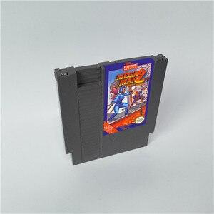 Image 2 - Mega Man 1 2 3 4 5 6 vardır 6 seçenekleri, her seçeneği sadece bir oyun Megaman   72 pins 8bit oyun kartuşu