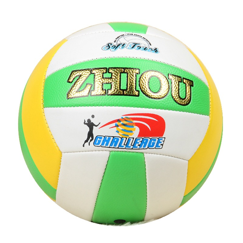 Wholesale Customizable Car Sewn Pu Inflatable Volleyball Sports Supplies Students Game Training Soft Factory Direct Selling Voll