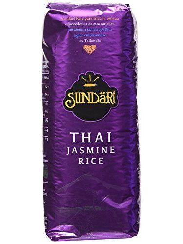 Sundari Arroz Thai Jasmine 500G - [Pack De 8] - Total 4 Kg