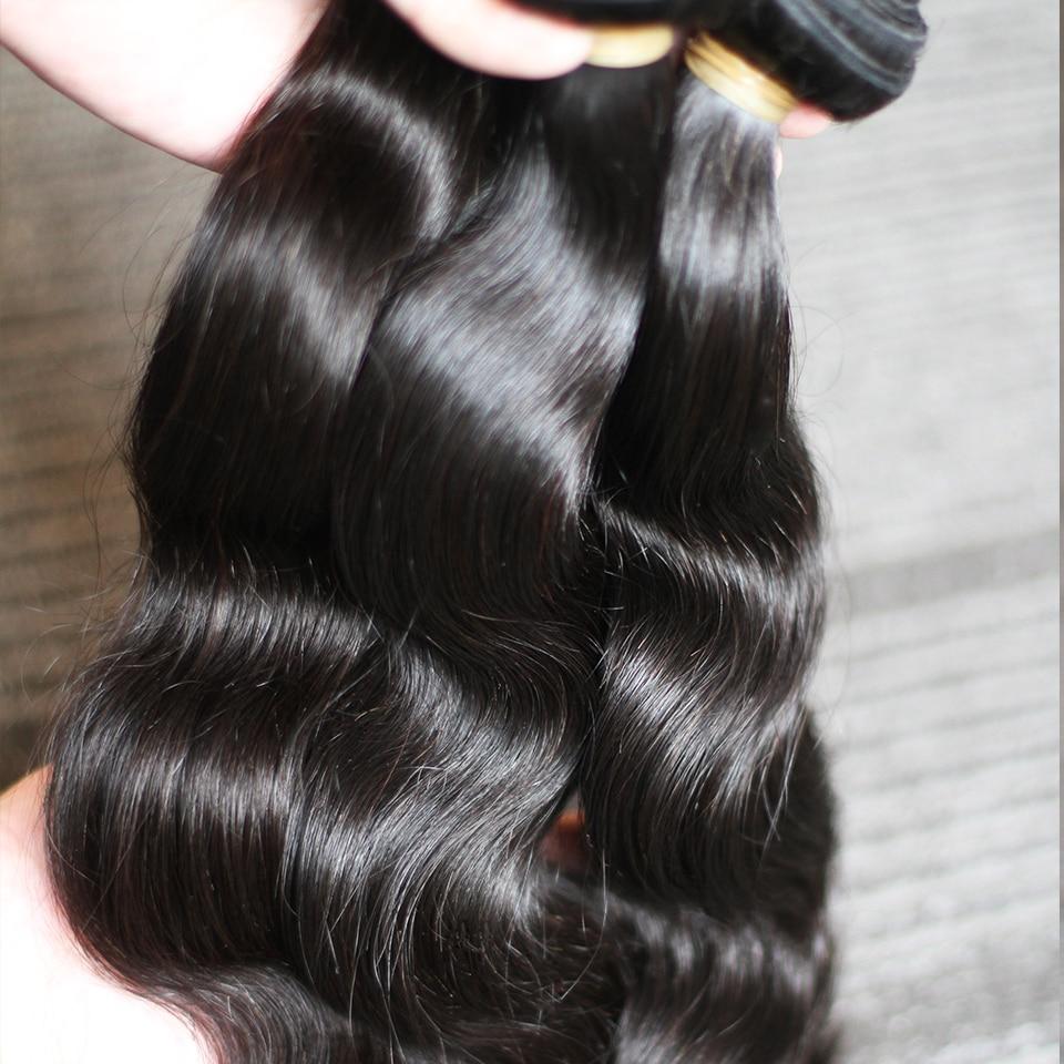 Rosabeauty 10A Brazilian Hair Body Wave 1/3/4 Pcs 100% Unprocessed Human Hair Weave 6-28 Inch Bundles Virgin Hair Extension