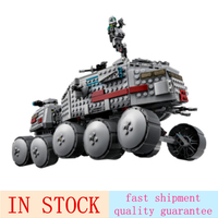 05031 933Pcs Clone Turbo Tank 75151 Building Blocks Bricks Compatible with 75151 Children Toys Gifts