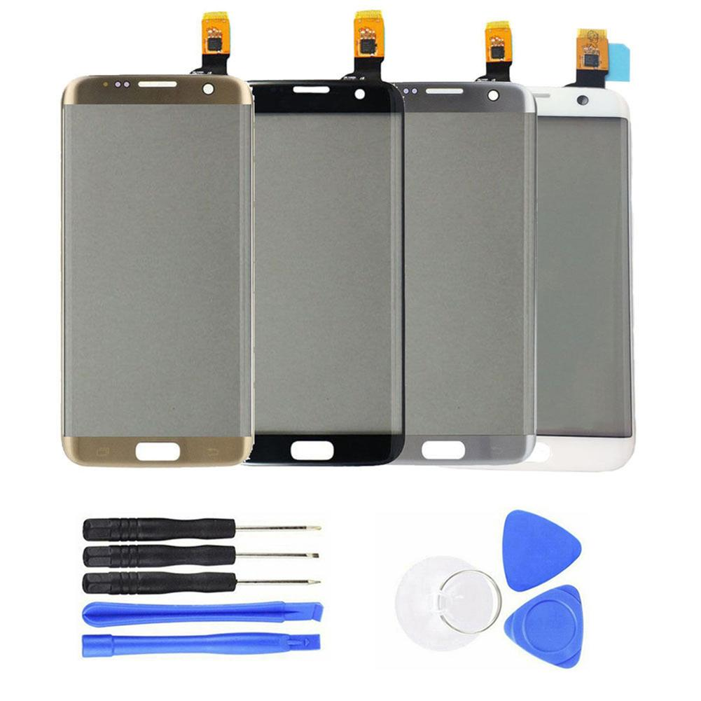 Replacement Display S7 Edge Display Front Touch Screen Digitizer Parts For Samsung Galaxy S7 Edge G935 + Tool телефон сенсорный