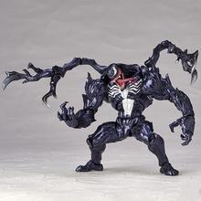 18cm Venom Eddie Brock Series No.003 For Kaiyod o Super Garage Kit For Children Games Decoration PVC Action Figure Model Toys