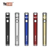 Современная электронная сигарета, YOCAN B smart электронная сигарета моды 320 мА/ч, подогреть Батарея Регулируемый Напряжение 510 вапорайзер с резьбой Батарея