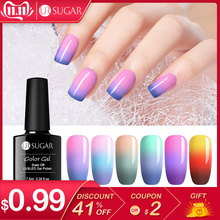 UR SUGAR 7.5ml Thermal Nail Gel Polish 3 Colors Temperature Color Changing Soak Off UV Gel Lacquer Nail Art Varnish Manicure LED