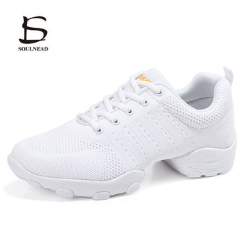 modern dance sneakers for women ladies soft bottom square heel jazz dancing boots middle heels 4cm autumn winter fitness shoes New Men's Modern Jazz Dance Shoes Breathable Soft Bottom Men Yoga Shoes Dancing Shoes Outdoor Fitness Dance Sneakers Size 39-44
