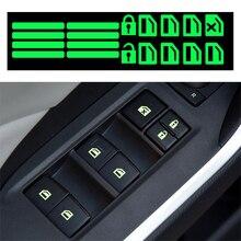 Автомобильная наклейка, автомобильный переключатель окна, светящаяся наклейка для Chevrolet Cruze Epica Lova Camaro aveo Chevy T250 для GMC Yukon
