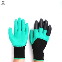 Digging-Claw-Gloves Latex Garden-Flower for And Planting Rose Pruning Women
