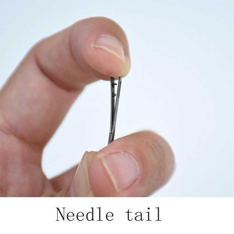 หนัง Lacing เข็มเครื่องมือ Double Hole คู่มือเชือกลูกไม้งานฝีมือหัตถกรรมถัก DIY มือเย็บเครื่องมือ