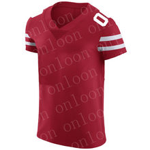 Mens deportes San Francisco Fans Jersey Jimmy Garoppolo Deion Sanders George Kittle Joe Montana Jerry Rice Color rojo camisetas(China)