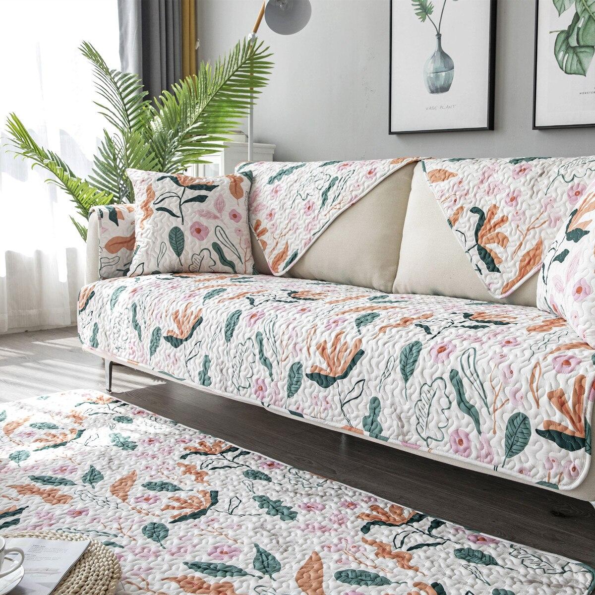 Cotton Twill Sofa Cushion Four Seasons