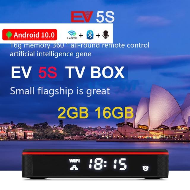 [Genuine]2021 EV tvbox evbox 5max 4G+128G EVAI voice control smart 6k android for UK Korea Japan SG HK CA AU Chinese Europe 3