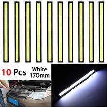 10PCS 17cm 12V LED DRL Driving Daytime Running Lights Car Styling Waterproof LED Lamp Auto Car Working Light Car Accessories L15 цена 2017