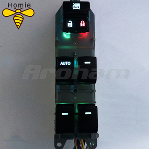 Image 3 - Lighted LED Power Single Window Switch set For Toyota RAV4 RAV 4 Camry Corolla Yaris Cruiser Vios Left driving backlight