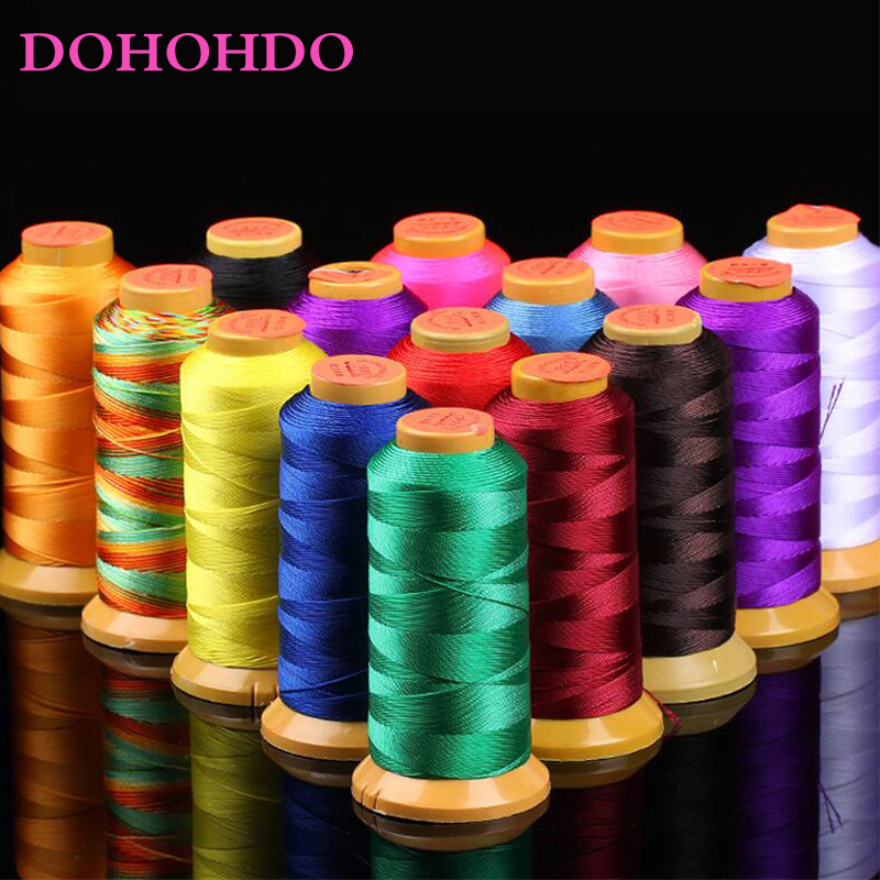 Polyamide Cord 0.2mm 0.4mm 0.6mm 0.8mm 1mm 1.2mm 1.4mm Nylon Cord Sewing Thread For Rope Silk Beading String DIY Jewelry Making