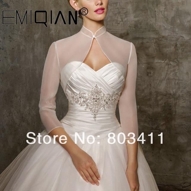 Custom Made Bridal Wedding Dress Bolero Jacket Wraps Coat