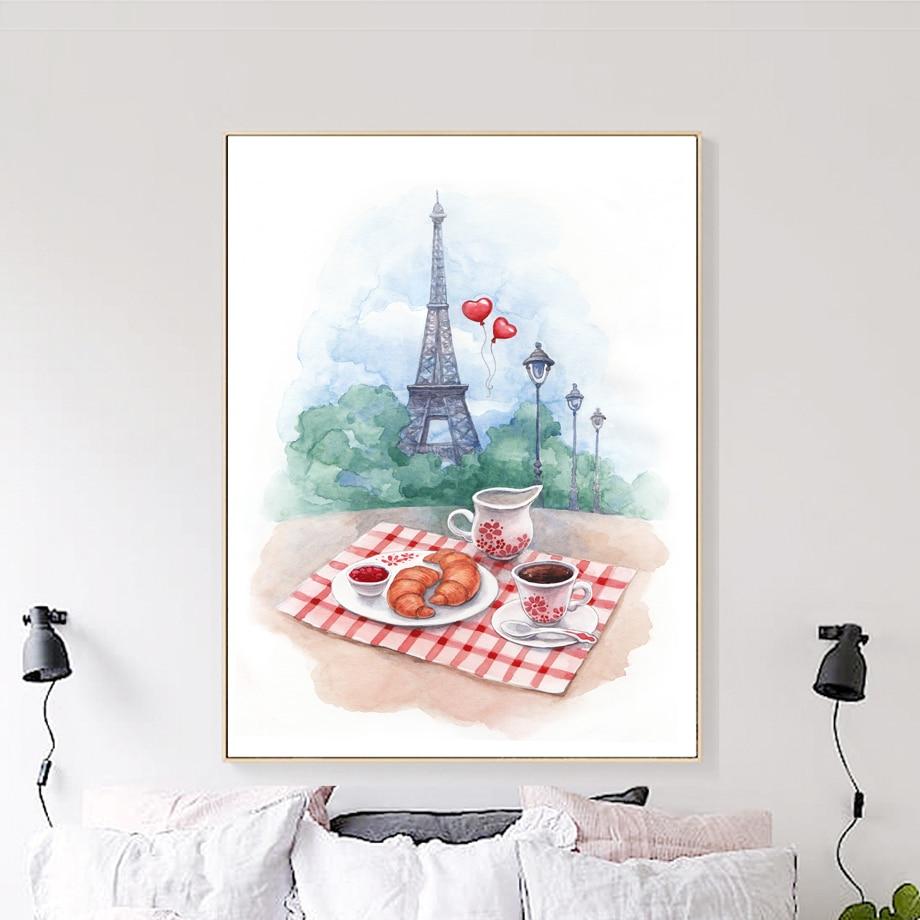 Parisian Wine Shop Canvas Wall Art Print Wine Home Decor