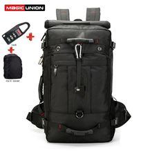MAGIC UNION Oxford Men Laptop Backpack Mochila Masculina Mans Large Water Resistant Hiking Backpack Luggage & Travel Bags