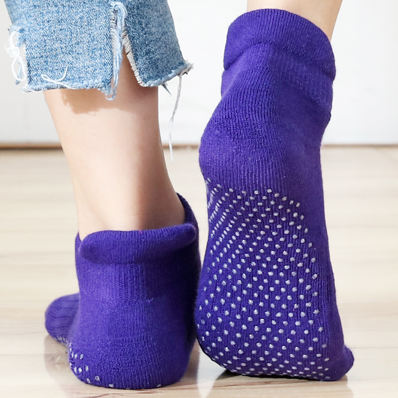 High Quality Women's Yoga Socks Fitness Pilates Socks Non-Skid  Dance Socks Breathable Cotton Socks Towel Bottom Drop Shipping