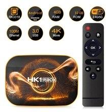 цена на Smart TV Box Android 10.0 4GB RAM 32GB ROM TV BOX 4K Media Player USB3.0 Set Top Box for Netflix Youtube
