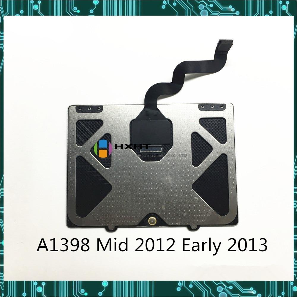 Оригинальная сенсорная панель для Macboook Pro Retina 15,4 дюйма A1398 с кабелем 821-1610-A EMC 2512 EMC 2673 Mid 2012 ранние 2013 года