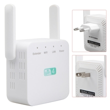 Signal-Extender Wifi Wireless Repeater Home 300 Mbps Enhancer-White