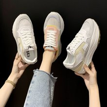 Sport Shoes For Women Tennis Shoes 2020 Lace-Up Fashion Breathable Mesh Flat Sneakers Casual Shoes Calzado Deportivo Mujer