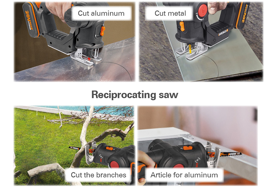 uses of Worx Electric Saw