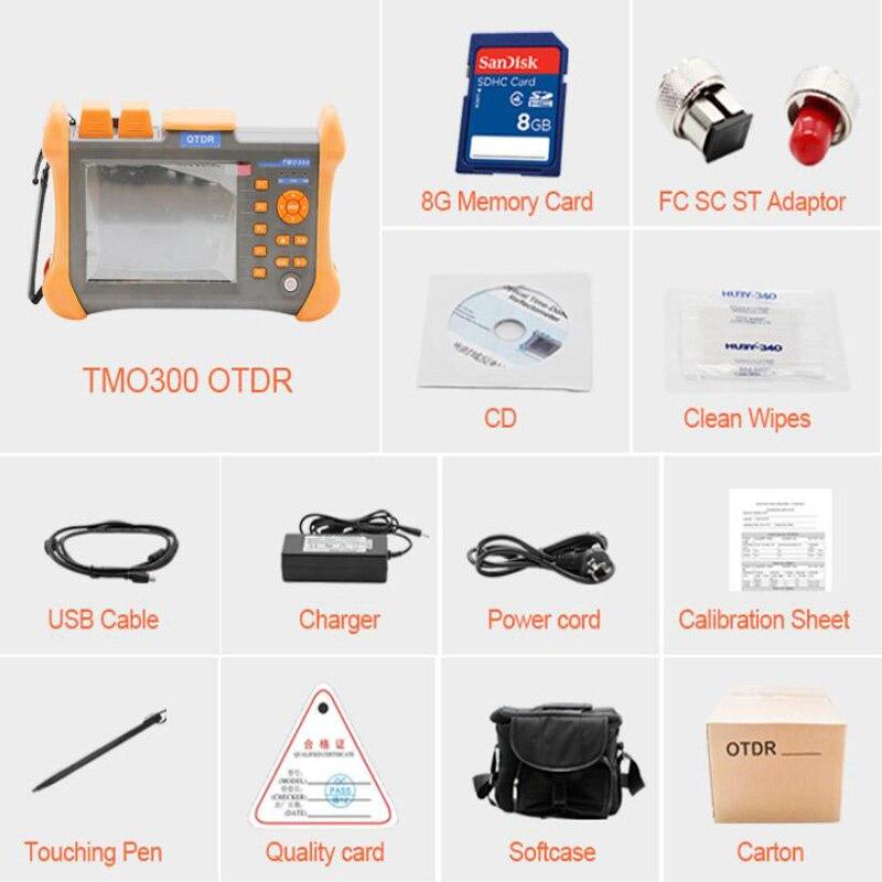 Image 2 - TMO 300 SM 32/30dB 1310/1550nm SM OTDR Tester Built in 10mW VFL Optical Fiber Test-in Fiber Optic Equipments from Cellphones & Telecommunications