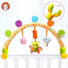 Baby Stroller Toys Arc With Toy Arch Musical Mobile On The Bed Baby Rattles0-12 Months Infant/Newborn Educational Toy