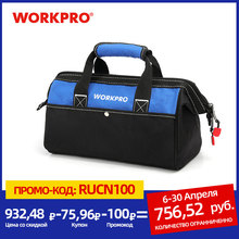 WORKPRO Tool Hand Bag Electrician Bag Tool Organizers Waterproof Tool Storage Bag