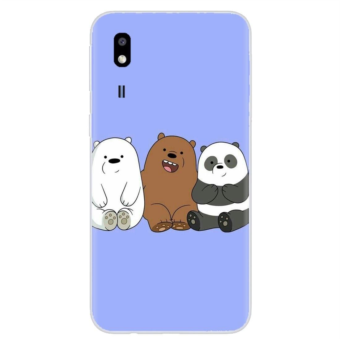 We Bare Ice Bear Panda For LG G2 G3 G4 Mini G5 G6 G7 Q6 Q7 Q8 Q9 V10 V20 V30 X Power 2 3 Spirit Personalized Silicone Phone Case