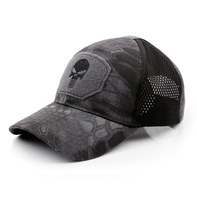 Tactical Military Airsoft baseball Cap army Hat Mesh Hunting Hiking Adjustable Breathable kxs12061 2
