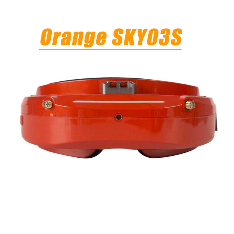 Skyzone SKY03O Oled/SKY03S 5,8 GHz 48CH diversidad FPV gafas soporte OSD DVR HDMI y cabeza ventilador LED para RC Drone ACC