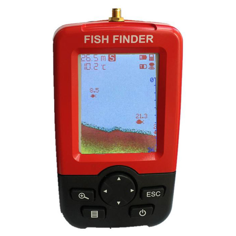 New Smart Portable Depth Fish Finder with Wireless Sonar Sensor Echo Sounder Fish Finder for Lake Sea Fishing