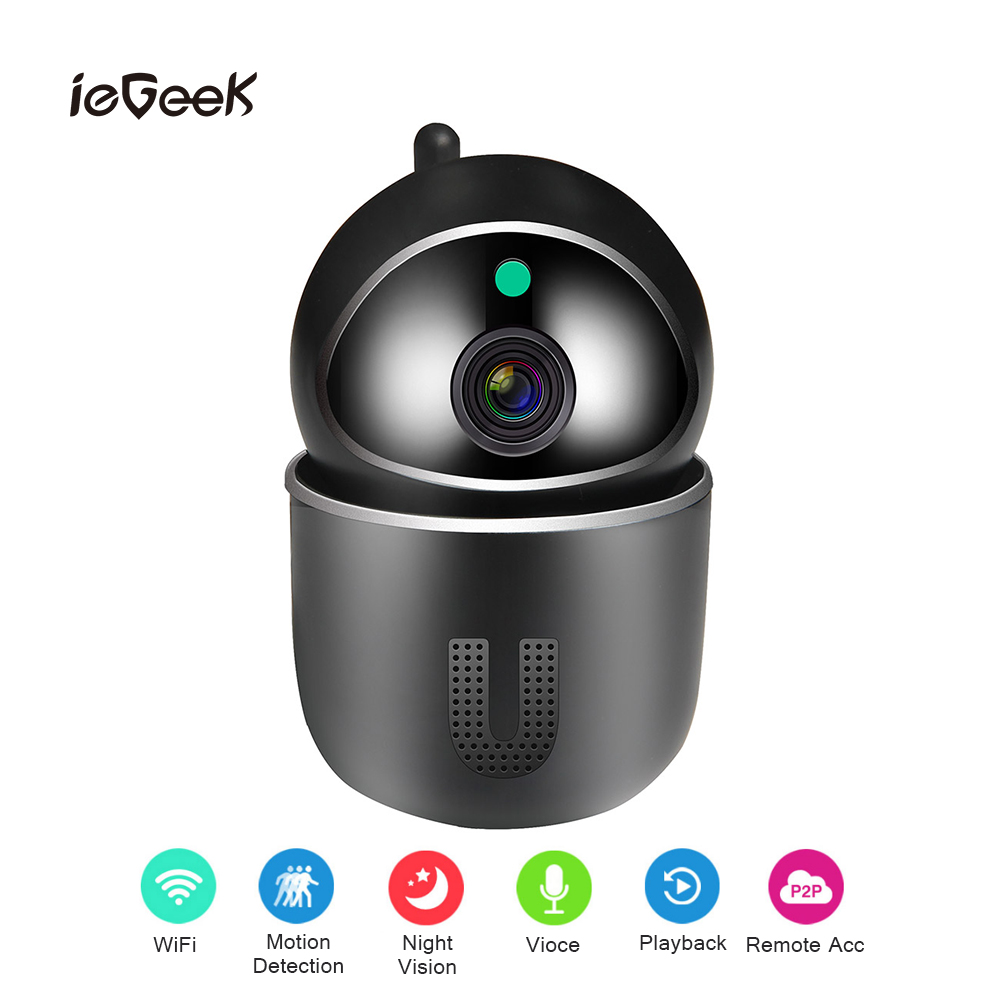 1080P IP Camera Wireless Wifi Baby Monitor Automatic tracking 2MP Mini Network Camera Surveillance Night Vision Security Camera