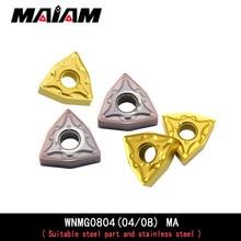 WNMG0804 Peach insert wnmg WNMG080404 WNMG080408 MA pattern insert for General steel parts and stainless steel VP15TF UE6020