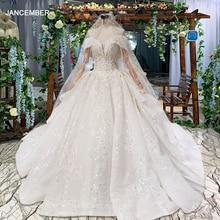 HTL822 sweetheart wedding dresses long train appliques lace bridal dresses ball gown with veil vestidos de novia 11.11 promotion