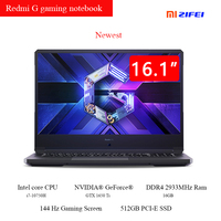 Xiaomi Redmi G Gaming laptop 16.1 inch Intel core 10th gen CPU 16GB DDR4 2933MHz RAM 512GB PCIe SSD GTX 1065 TI Camera Redmibook