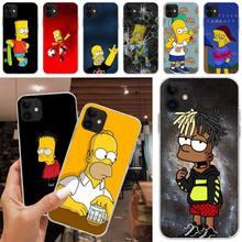 Homeres Funda de teléfono Sim y Psones, para Iphone XR 11 12 Pro X XS Max 6 7 8 6s Plus SE2020