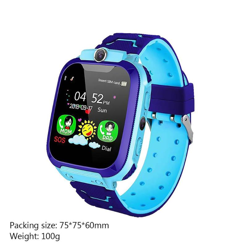 Q12 1.44 inch Touch Screen Kids Smart Watch Child Intelligent Watch LBS Positioning Tracker Children Smart Talking Watch Gifts