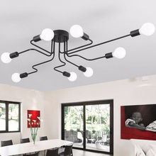 LED Lamp Study Chandelier Novel Creative 8 Bedroom Decoration Lighting
