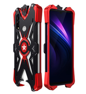 For Huawei P Smart Z Case Luxury Heavy Duty Armor Metal Aluminum Phone Case For Huawei Y9 Prime 2019 Back Cover For Huawei Y9S