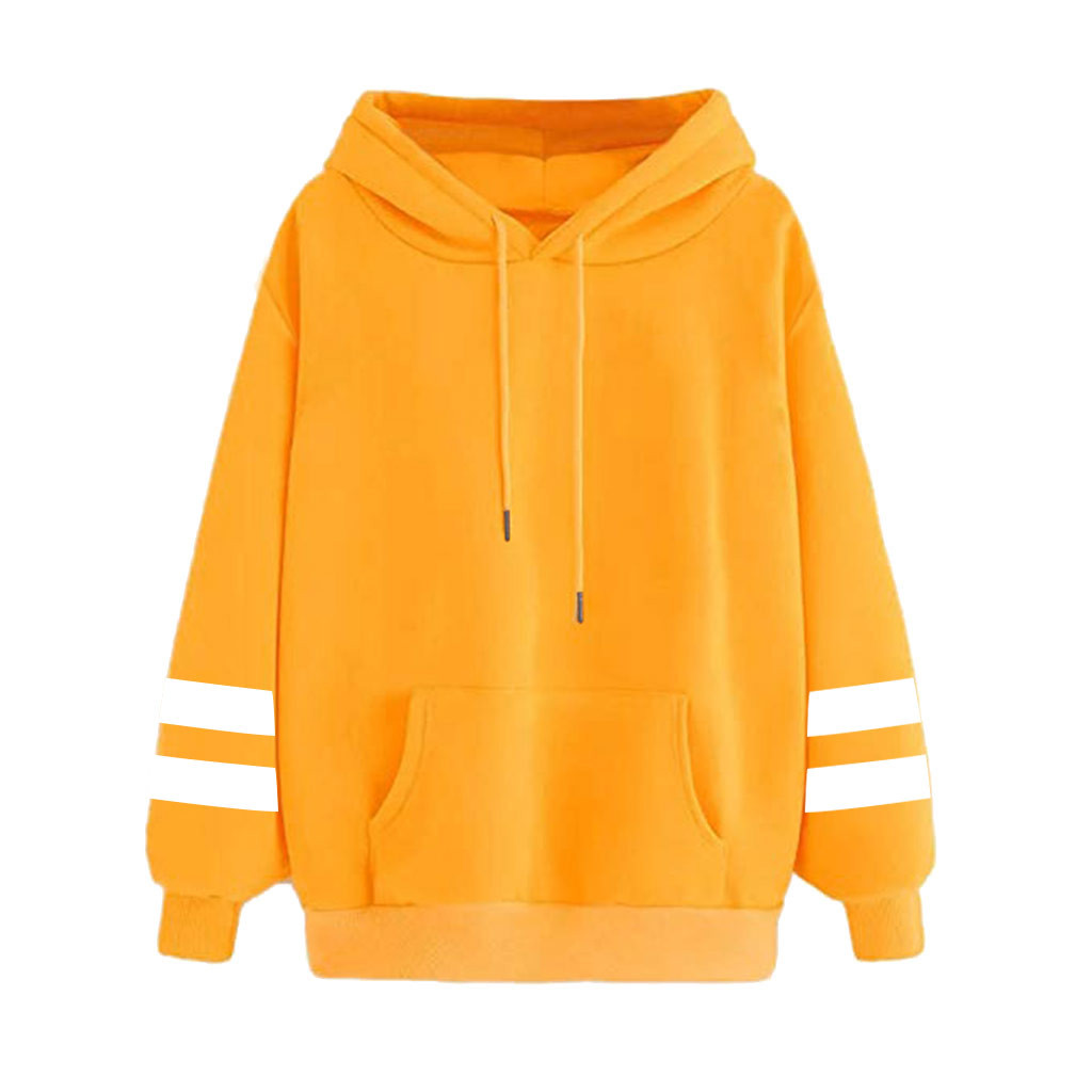 Women Casual Hoodies 2020 Autumn Winter Hooded Sports Hoodies Fashion Solid Oversize Basic Sweatshirt For Womens Streetwear